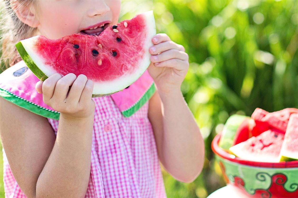 watermelon bite kid